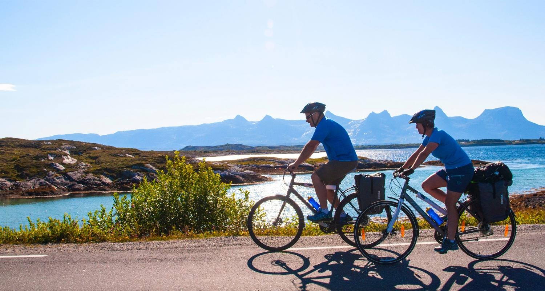 Øyhopping med sykkel fra Offersøy